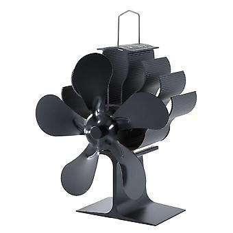 Wood Burning Real Hot Power Fireplace Small Fan