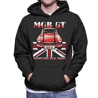 MG GT Sport The Real Thing British Motor Heritage Men's Moletom Encapuzado