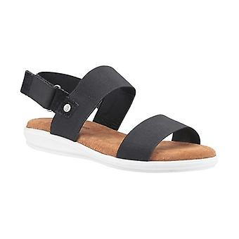 Hush Welpen Ashley Damen Wildleder Sandalen Schwarz
