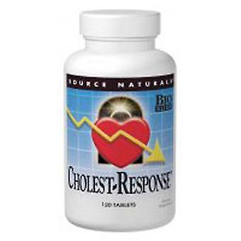 מקור Naturals Cholest-תגובה, 120 כרטיסיות