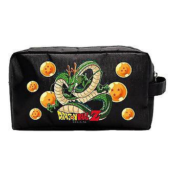 Dragon Ball Z Shenron Black Travel Wash Bag