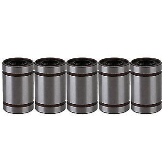 5pcs LM6UU 6mm Linear Bush Ball Bearing Bushing For Reprap Prusa 3D Printer