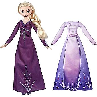 Frozen 2, Muñeca - Elsa con Dos Vestidos