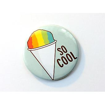 Funny Shaved Ice Magnet, Pinback Button, Or Pocket Mirror