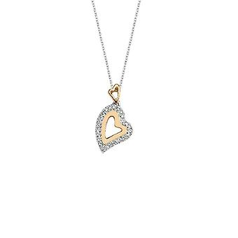 Heart Diamond Necklace