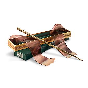 The noble collection hermione wand ollivander's box.