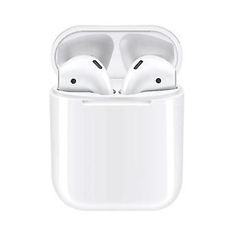 Tws bt 5.0 earphone compatible with qi wireless-standard