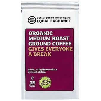 Equal Exchange Organic Medium R&G Coffee 227g x8