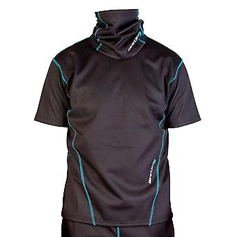 Spada Chill Factor 2 Mens Shirt Black Short Sleeve Breathable Thermal Base Layer