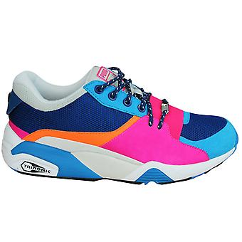 Puma Trinomic R698 Womens Party Trainers Lace Up Shoes Multi 361916 02 B29D