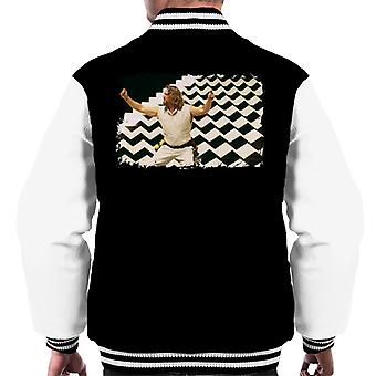 Den stora Lebowski The Dude Dream Sequence Män' s Varsity Jacket