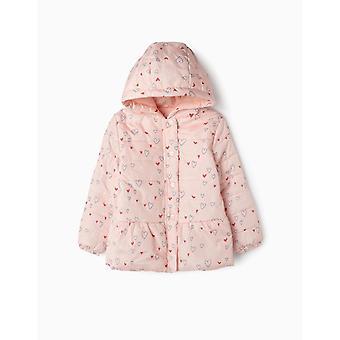 Zippy Puffer Jacket Pink
