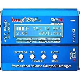 Skyrc imax b6 v2 60w charger 6a dc/cc converter dji mavic inspire nimh/nicd/lipo/lihv battery