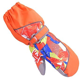 Children Ski  Winter Plus Wool Warm Snowboard Glove