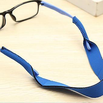Óculos anti-deslizamento de espuma flutuante, corda de óculos de sol, cordas, suporte de cabo de banda