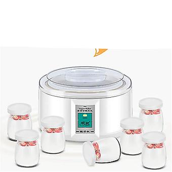1.5l Automatic Yogurt Maker With 7 Jars Diy Tool Electric Yogurt Maker