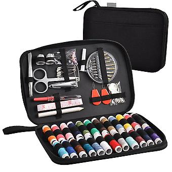 Sewing Kit With 90 Accessories And High Quality Oxford Case Universal Kit | Home And Travel. All You Need For Sewing !