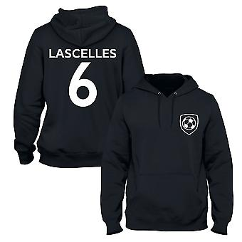 Jamaal Lascelles 6 Newcastle Style Spieler Fußball Hoodie