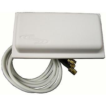 2,4/5 GHz 3/4dBi Omni Wi Fi Antenni 3 Plenum RPSMA