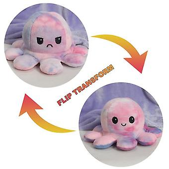 Double Sided Flip Doll Reversible Octopus Plush Toys
