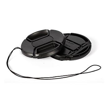 Walkingway Lens Cap Holder, Center Pinch Snap-on Cover Cap, Protective,