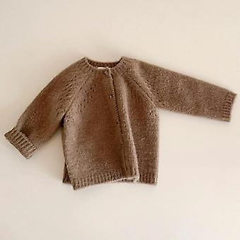 Baby Knit Cardigans Knitwear Long-sleeve Cotton Jacket