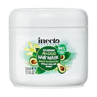 Nourishing avocado mask for damaged or damaged hair 300 ml of cream