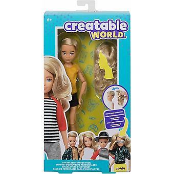 Creatable wereld karakter starter pack blonde