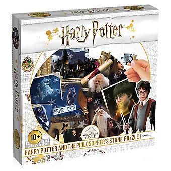 Harry Potter, Palapelien ympärillä - Filosofien kivi