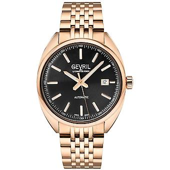 Gevril Five Points Automatic Black Dial Men's Watch 48703