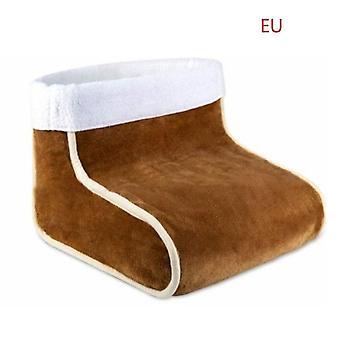 Plug-in electric heating foot warmer washable electric foot warmer office bedroom winter heating pad foot warmer five-speed