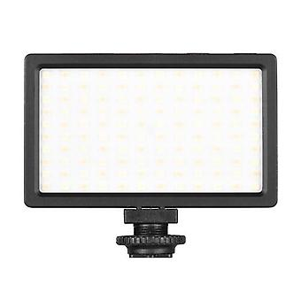 LIYADI LED Video Light Panel On-Camera 3200K-5600K Dimmable Lamp Adjustable Brightness Flash Light