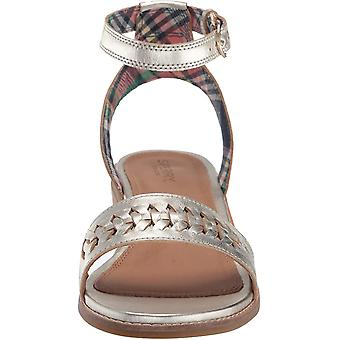 Sperry Women's Seaport City Sandal Ankle Strap Woven Leather