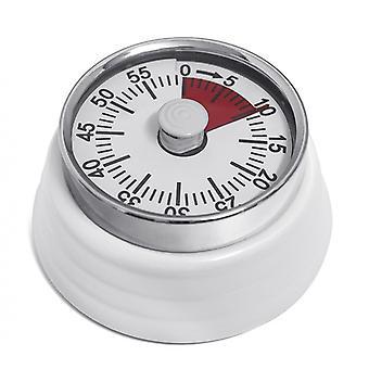 zeitschaltuhr magnetisch Bumpy 7,3 x 3,5 cm Metall weiß
