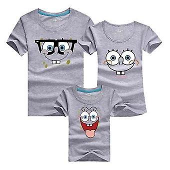 Îmbrăcăminte de familie, mama și fiica tatălui de vară tricou