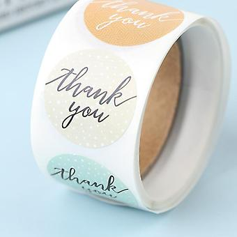 Seal Label Thank You Stickers