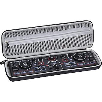 FengChun Hart Schutz Hülle Reise Tragen Etui Tasche für Numark DJ2GO2 Ultra-portabler 2-Kanal DJ