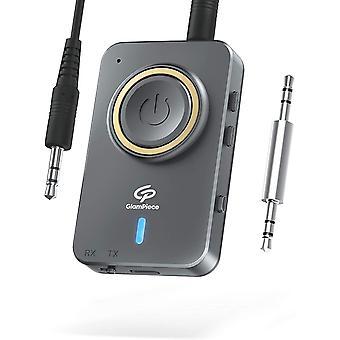 FengChun Aux Bluetooth Adapter 5.0 Bluetooth Sender Empfänger 2-in-1, Wireless Bluetooth
