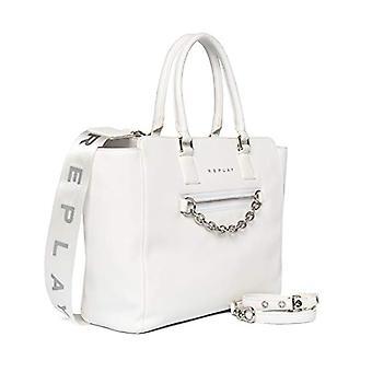 REPLAY FW3094, Women's Folder Bag, 001 Optical White, UNIC