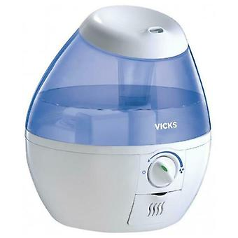 VICKS Mini Cool Mist Ultrasonic Humidifier VUL520E1 with CoolMist VapoPad 1.8L