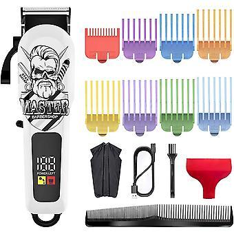 Haarschneidemaschinen für Männer Schnurloser Haarschneider Bartschneider Haarschnitt-Pflegeset