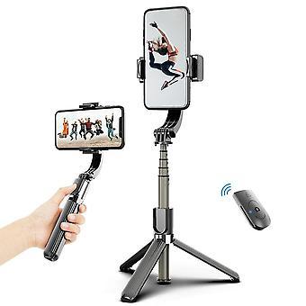 3 In 1 telefono gimbal stabilizzatore selfie stick treppiede