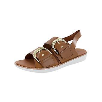 Fitflop Mujer Buckleup Zapatos de sandalia embellecida
