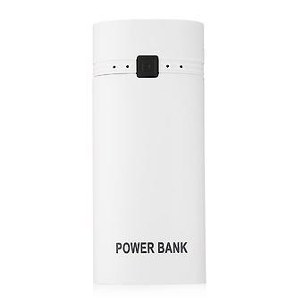 Prenosná skrinka Power Bank Shell s výstupom a indikátorom USB