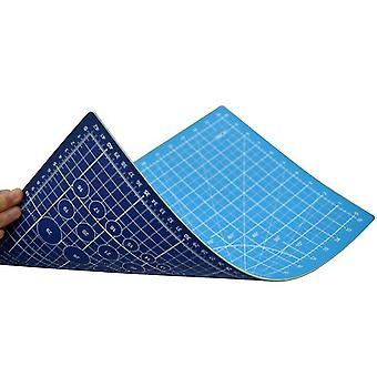 45*30Cm blue+light blue cutting pad a3 double-sided cutting pad 45 * 30cm non-slip medium knife pad out of grid board pvc cutting pad az22211