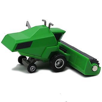 Novos carros Frank Green Harvester Tio Cow Alloy Kids's Toy Car Modelo ES12834
