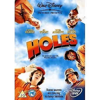 Holes 2003 DVD