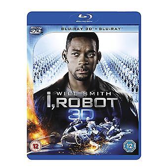 I Robot  Blu-ray   Blu-ray 3D