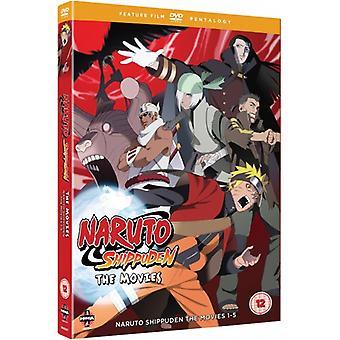 Naruto - Shippuden Movie Pentalogy DVD