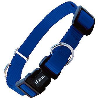 Gloria Pets Oasis Collier en nylon à double usage Bleu